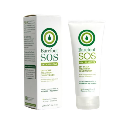 Barefoot SoS Dry und Sensitive Dry Scalp Treatment Conditioner, 1er Pack (1 x 200 g)