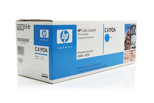Original HP C4192A /, für Color Laserjet 4550 HDN Premium Drucker-Kartusche, Cyan, 6000 Seiten (Hp Drucker Laserjet 4550 Color)