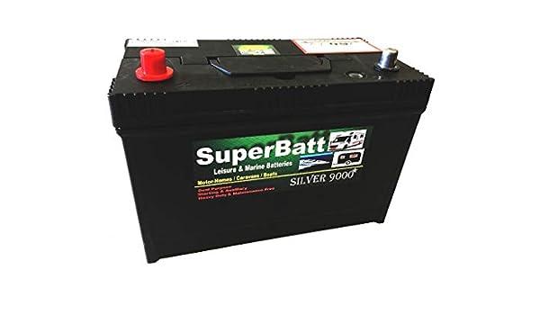 Leisure Battery 12V 50AH SuperBatt LM50 Battery Caravan Campervan Marine Boat