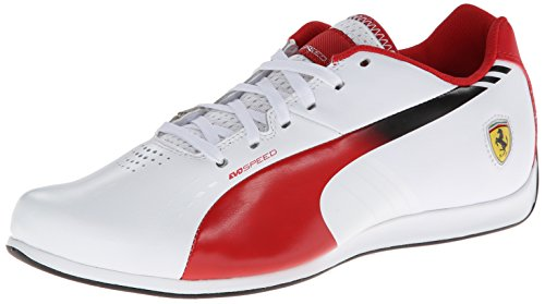 3 Puma Corsa Evospeed Lo White Fashion rosso Ferrari 1 Sneaker qETraxE