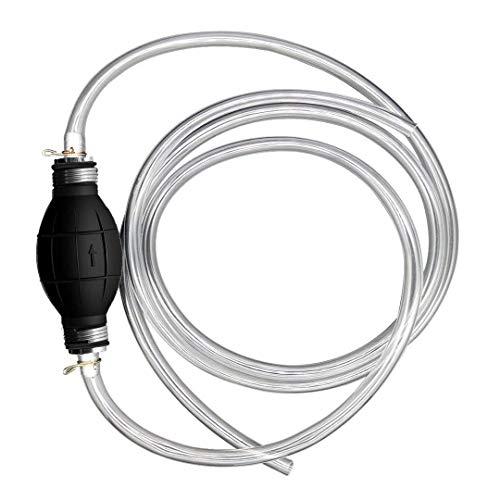 HOUSON Universale Handpumpe Umfüllpumpe für Flüssigkeiten wie Wasser, Benzin, Diesel & Öl   Not-Pumpe