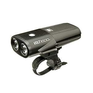 Feu Vélo - Avant Cateye Volt 1600 - Rechargeable Noir (Default , Noir)