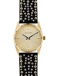 Reloj Mixta Zadig & vortaire de cuarzo reloj dorado 36mm y pulsera dorado y plateado de piel & acero zvf403