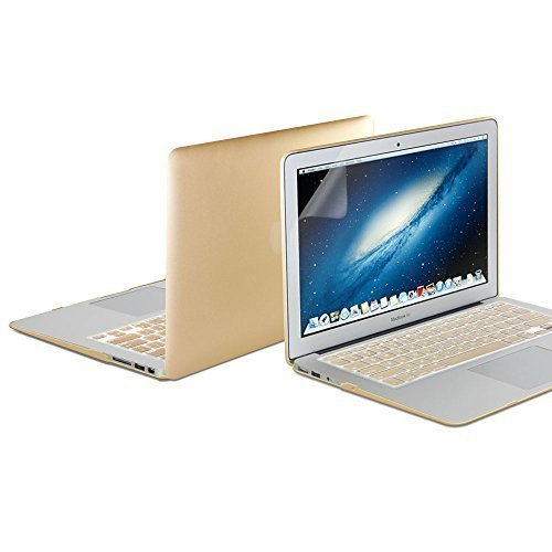 macbook-air-13-coque-gmyle-hard-case-metallic-color-pour-macbook-air-13-inch-metallise-champagner-or