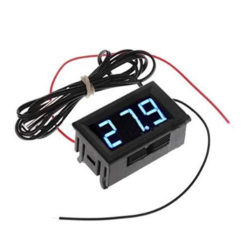 Juman634 Digital Thermometer,12V Electronic Thermometer Digital Thermometer Aquarium Refrigerator...