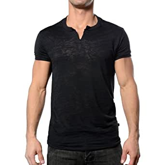 Skinny Core Arch Clip Tee, Black, X-Large