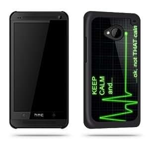 Keep Calm and nicht, dass Ruhe Funny Quirky telefon Schutzhülle Shell für HTC One