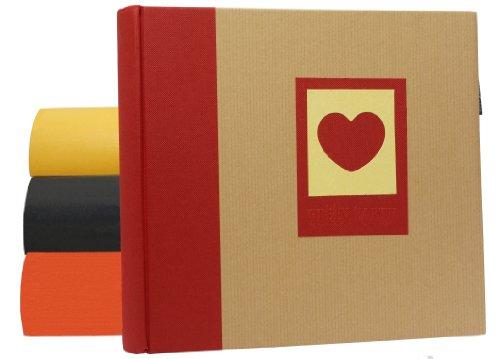 Doppelpack Einsteck Album 200 Earth 13x18 cm - für insgesamt 400 Fotos