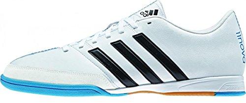Adidas 11nova IN White B44393 Fußballschuhe Hallenschuhe Indoor Herren 000 FTWWHT/CBLACK/SOLBLU