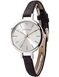 Yves Camani Damen-Armbanduhr Nonette Analog Quarz YC1073-A