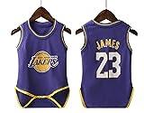 T-MIX Divise da Basket per Uomo e Donna, Estate, Vestiti striscianti di Un Pezzo Abbigliamento Sportivo da Basket NBA (Colour4, 9 Yards (Height 65-75cm))