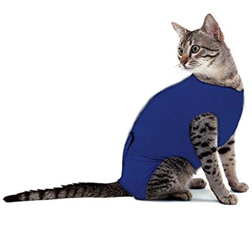 Chaleco de recuperación para gatos, reduce el miedo y la ansiedad y da apoyo emocional, para perros pequeños y gatos