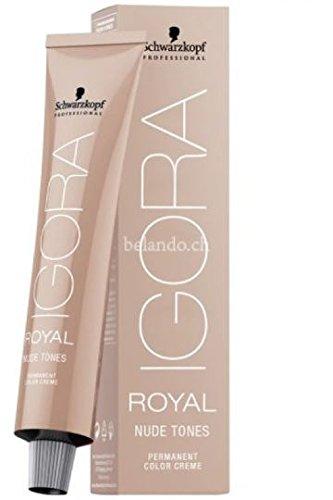 Schwarzkopf Professional Igora Royal Nude 6-46 Dunkelblond Beige Schoko für eine strahlende Natürlichkeit, 1er Pack (1 x 60 ml)