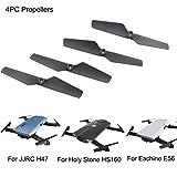 4pc Propeller für JJRC Upxiang Ersatzteile für Eachine E56 JJRC H47 Heiligen Stein HS160 RC Quadcopter