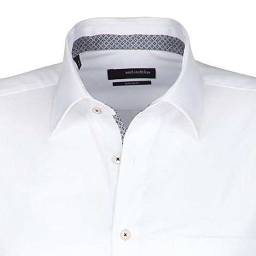 Seidensticker Herren Freizeithemd weiß (0001)