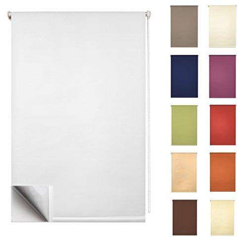 GARDUNA FIX Tageslicht-Rollo – Smartfix – Klemmfix – ohne bohren – viele Farben & Größen- lichtdurchlässig / Sichtschutz