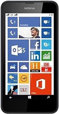 Nokia Lumia 630 (Black) (Certified Refurbished)