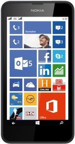 Nokia Lumia 630 (Black, Dual SIM) image