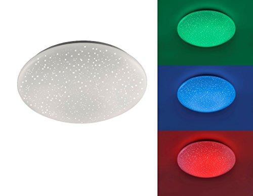 LED, LED Deckenleuchte , Skyler Ø390, RGB, 24W 1650lm, (Skyler)