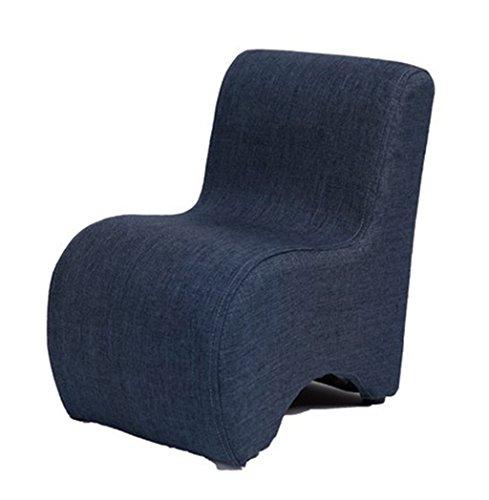 GRJH® Sitzsack, waschbar mit Rückenlehne Hocker Baby Adult Ändern seiner Schuhe Hocker Mode Mini Holzstuhl tragbar,Zusammenklappbar ( Farbe : #5 ) Rückenlehne Schuhe