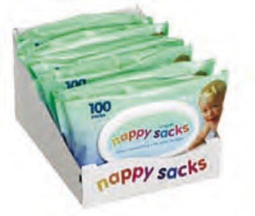 Nappy Sacks 50's X 10 = 500! by Single Use Instruments Ltd - UK