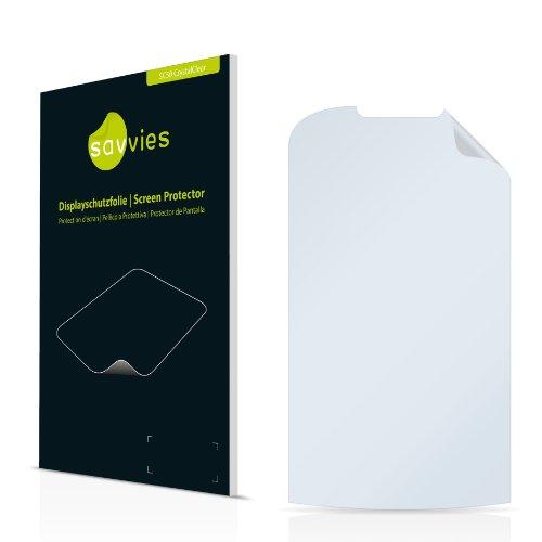 Savvies SC50 Displayschutzfolie passend für Samsung GT-S5560 Schutzfolie Folie
