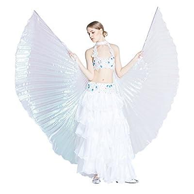 Dance Fairy Bauchtänzerin Isis Flügel Halloween spaß Darstellende Künste,Einschließlich Stöcke / Ruten