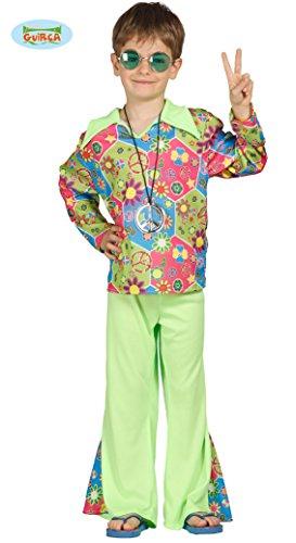 Guirca Disney Hippie Kinder 10/12 Jahre, Mehrfarbig, 10-12 (142-148 cm), 85605 (Hippie Kinder Kostüm)