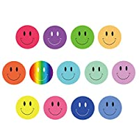 FEPITO 10 Sheets 1040 PCS Smiley Face Stickers Mini Happy Face Stickers for Teachers, Parents Kids Craft Scrap Books Decoration, Multi Color