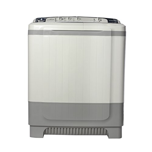 Samsung WT1007AG/TL Semi Automatic Top Load Washing Machine (8Kg, Grey)