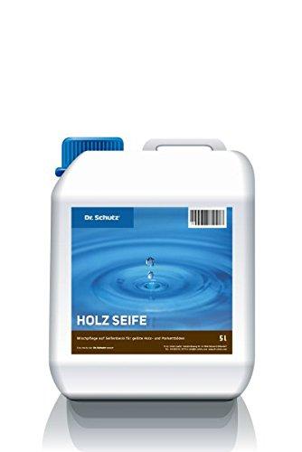 Dr Schutz Holz Seife Wischpflegemittel 5 Liter Wischpflegemittel für geölte und geölt-gewachste Holz- und Korkfußböden, hohe Reinigungskraft, Preis pro Pack