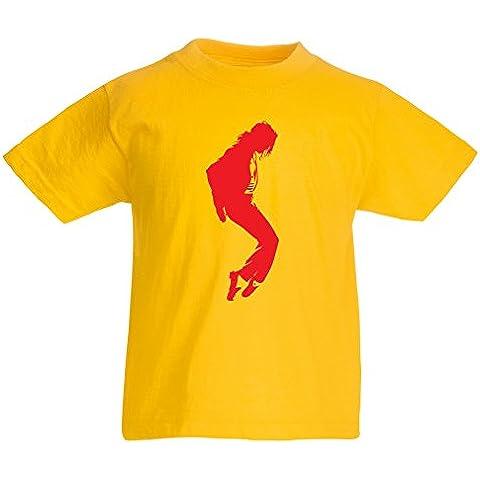 N4108K La camiseta de los niños I love MJ