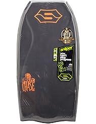 SNIPER Chase Pe Action Series Bodyboard, Unisex Adulto, Negro / Fluro Rojo, 42