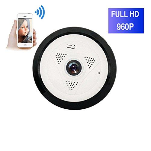 ShengyaoHul Détection De Mouvement Caméra Ip De Surveillance, 960P HD Indoor Système De Sécurité Ip Home Camera, Suivi De Came Microphone Intégré / Télécommande Du Téléphone Mobile