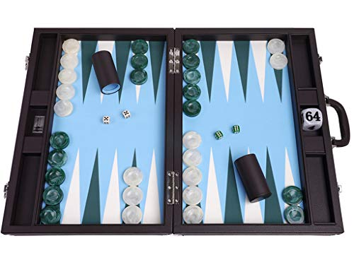 Wycliffe Brothers Juego Backgammon Torneo 21 Pulgadas