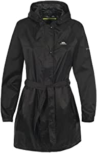 Trespass Compac Mac Women's Packaway Jacket - Black, 2X-Large