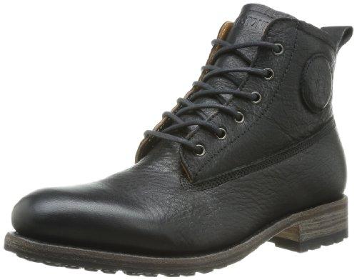 Blackstone Gm09, Boots homme Noir (Black)