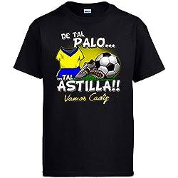 Camiseta De tal palo tal astilla Cádiz fútbol - Negro, S