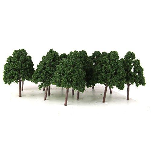 25-oscuro-arboles-modelo-verde-wargame-disposicion-del-tren-escala-n-paisaje-diorama-1-150