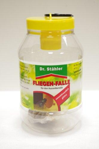 Dr. Stähler 001335 Biologische Fliegenfalle für Terrassen, Garten oder Balkon mit Langzeitwirkung