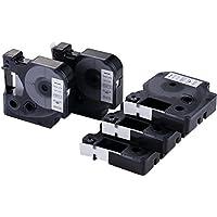 5 x Dymo S0720530 Schriftband Kompatibel D1 45013 Etikettenband 12mm x 7m schwarz auf weiß für LabelPOINT & LabelManager