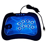 L&WB Fashion Game Controller Wired USB Arcade Joystick PS3 PC Controller per Computer Controller per Giochi Android
