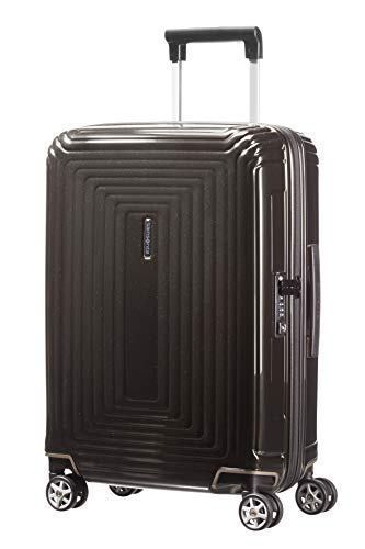 Samsonite Neopulse Spinner Hand Luggage, 55 cm, 38 L, Schwarz (Metallic Black)