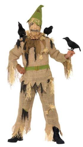 Smiffys Vogelscheuche Halloweenkostüm Kostüm Halloween Vogel Scheuche Horror Alptraum Scared Crow Gr. 48/50 (M), 52/54 (L), Größe:M