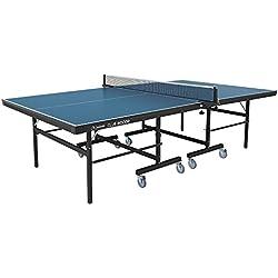 Garlando mesa de ping pong Club Indoor Con Ruedas Para Interior Azul