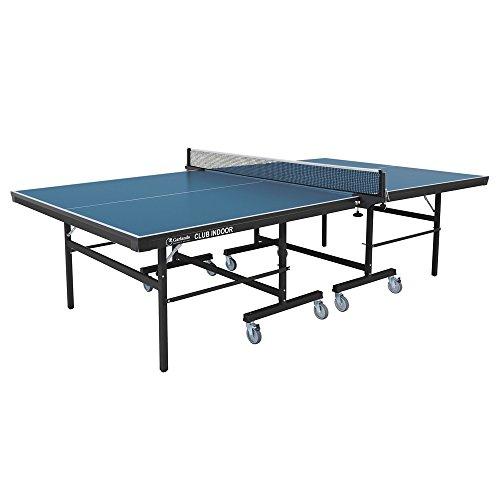 Garlando Tavoli Ping Pong Tavolo Ping Pong Club Indoor Con Ruote Piano Blu Interno
