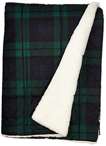 Woolrich, Inc. Brewster 145GSM Softspun Down Alternative gefüllt Überwurf Decke, 127x 177,8cm blau Woolrich Throw