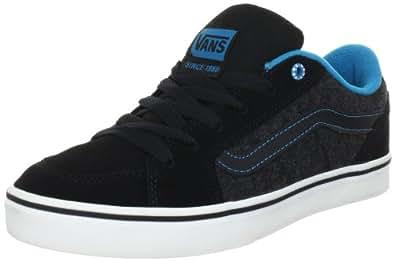 Vans M TRANSISTOR (TEXTILE)BLK/HA VKXT73J, Herren Sneaker, Schwarz ((Textile)blk/ha), EU 50
