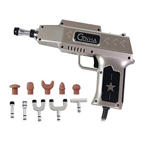 980N Elektrische Chiropraktik Einstellwerkzeug,Gewehr Aktivator Physisch Therapie Ausrüstung Impuls Rückenmark Anpassen Instrument Werkzeug Gold -