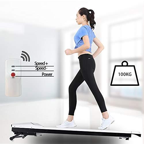 LONTEK Laufband Schreibtischlaufband leicht unter Schreibtisch im Büro zu Hause Energieeffizienter Elektromotor Bewegen und ergonomisches Arbeiten Professionelles Fitnessgerät Lauftraining